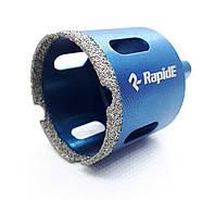 Коронка алмазная вакуумного спекания Rapide на дрель, 10 мм (RA-10), фото 1