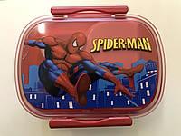 """Пищевой контейнер для ланча с ложечкой """"Детский"""" EL 246-44 Разные рисунки"""