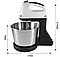 Миксер ручной с 2 л чашей 7 режимов Crownberg CB-7321 (мощный миксер с большой чашей на 2л), фото 3