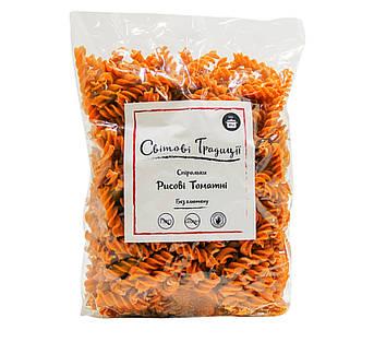 Спіральки рисові з томатами без глютену 500 р. Світові Традиції