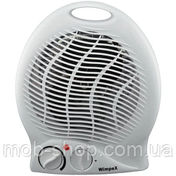 Мощный Тепловентилятор электрический обогреватель Wimpex WX-425 1500W (мини обогреватель вентилятор)