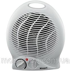Потужний Обігрівач електричний обігрівач Wimpex WX-425 1500W (міні обігрівач вентилятор)