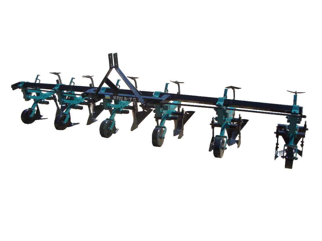 Пропашной культиватор КПУ-5-70 с окучниками