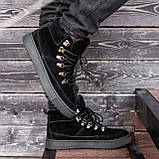 Ботинки мужские зимние South Snake 2.0 black, зимние классические ботинки, фото 2
