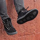 Ботинки мужские зимние South Snake 2.0 black, зимние классические ботинки, фото 4