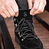 Ботинки мужские зимние South Snake 2.0 black, зимние классические ботинки, фото 6