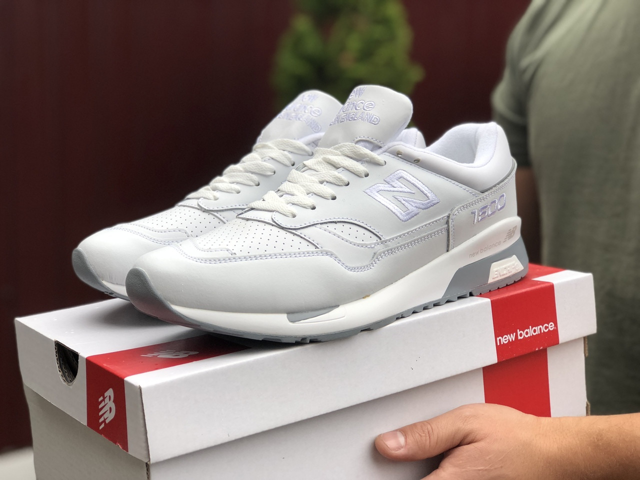 Чоловічі кросівки New Balance 1500 (білі) 9911