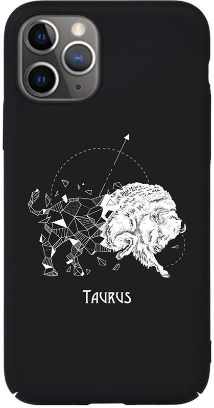 Чехол-накладка TOTO Full PC Print Case Apple iPhone 11 #172_Taurus Black #I/S