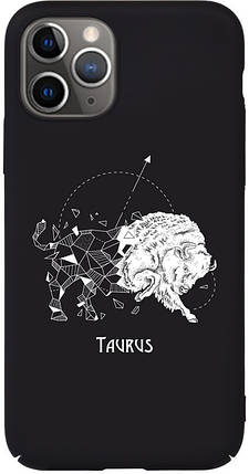 Чехол-накладка TOTO Full PC Print Case Apple iPhone 11 #172_Taurus Black #I/S, фото 2