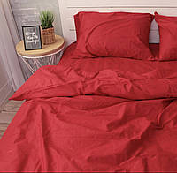 Комплект постельного белья Красный 1,5сп