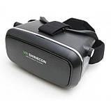 3D очки виртуальной реальности VR SHINECON c пультом, фото 2