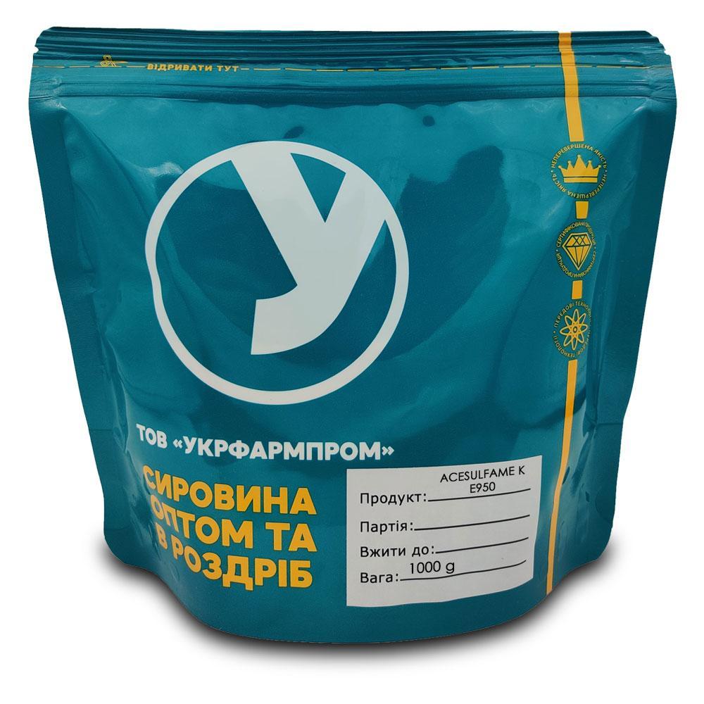 Подсластитель ацесульфам калия Acesulfame K Е950 500 g на развес