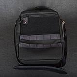 Сумка Multibag Hasta L (280х210мм), черная, фото 2