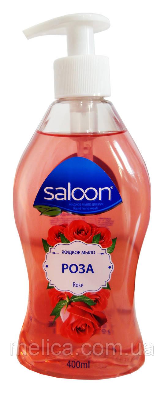 Жидкое мыло для рук Saloon Rose Роза - 400 мл.