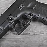Пистолет сигнальный, стартовый Retay Glock G 17 (9мм, 14 зарядов), черный, фото 4