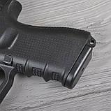 Пистолет сигнальный, стартовый Retay Glock G 17 (9мм, 14 зарядов), черный, фото 5