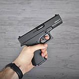 Пистолет сигнальный, стартовый Retay Glock G 17 (9мм, 14 зарядов), черный, фото 6
