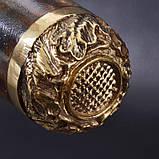Шампуры ручной работы рукоять кап клена, в деревянном кейсе, фото 9