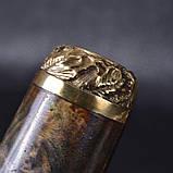 Шампуры ручной работы рукоять кап клена, в деревянном кейсе, фото 10