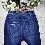Леггинсы (джеггинсы) женские.  Леггинсы  и лосины женские  типа джинсов., фото 8