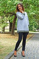 Лосины для беременных NowaTy 16010203 Фитнес лайт (под живот) L (48) черный
