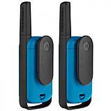 Рация Motorola Talkabout T42 TWIN PACK, синяя, фото 2