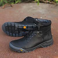 Ботинки демисезонные Грант натуральная кожа черные