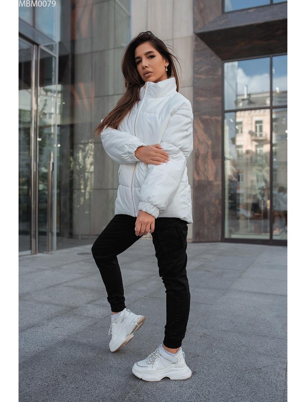 Женская зимняя куртка Staff gerber white. [Размеры в наличии: L]