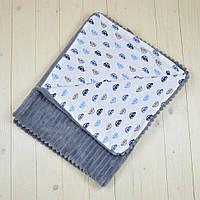 Детский  Плед плюшевый 100x80 Kinder Comfort модель 06, фото 1