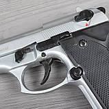 Пистолет сигнальный, стартовый Retay Beretta 92FS Mod.92 (9мм, 15 зарядов), титан, фото 4