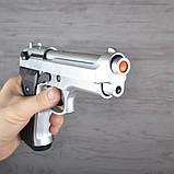 Пистолет сигнальный, стартовый Retay Beretta 92FS Mod.92 (9мм, 15 зарядов), титан, фото 7