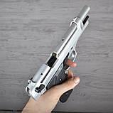 Пистолет сигнальный, стартовый Retay Beretta 92FS Mod.92 (9мм, 15 зарядов), титан, фото 8