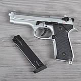 Пистолет сигнальный, стартовый Retay Beretta 92FS Mod.92 (9мм, 15 зарядов), титан, фото 9