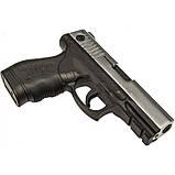 Пистолет сигнальный, стартовый Retay Taurus PT24 (9мм, 15 зарядов), хром, фото 2