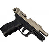 Пистолет сигнальный, стартовый Retay Taurus PT24 (9мм, 15 зарядов), сатин, фото 2
