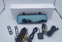 """Дзеркало відеореєстратор K40 10"""" Android 1/8 GPS"""