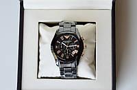 Мужские керамические наручные часы  Emporio Armani AR 1400 Gold керамические наручные часы хронограф
