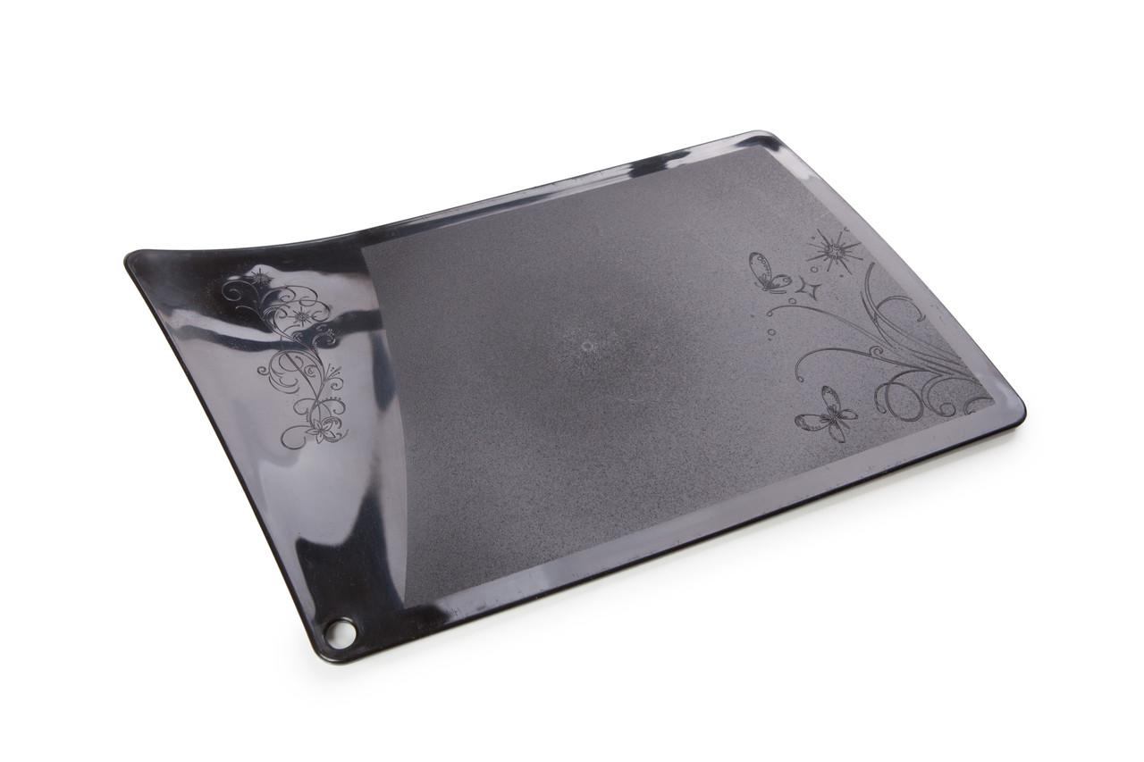 Доска разделочная пластиковая Berossi Rondo 32х19 см черный