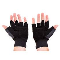 Перчатки атлетические Matsa Sareno, размер M, фото 3