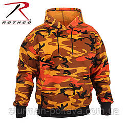 Толстовка Світшот чоловіча з капюшоном камуфляж Rothco Camo Pullover Hooded Sweatshirt ROTCHO США