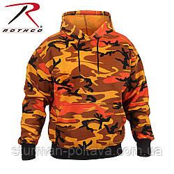 Толстовка  Свитшот  мужская   с капюшоном  камуфляж   Rothco Camo Pullover Hooded Sweatshirt ROTCHO США