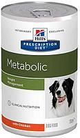 Консерва Hills Prescription Diet Canine Metabolic для собак 370г