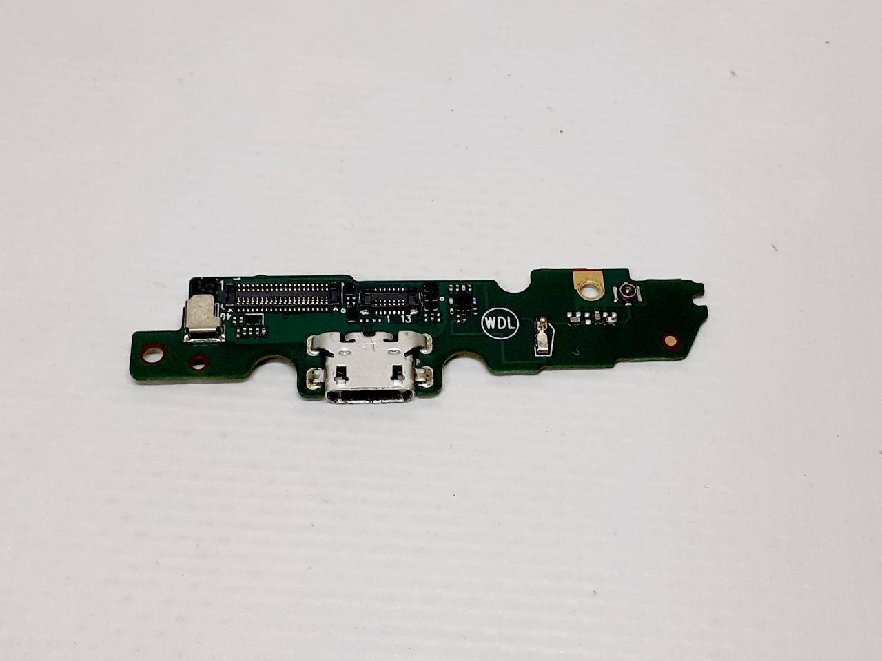 Шлейф Motorola XT1670 Moto G5, XT1671, XT1676 с разъемом зарядки оригинал сервисный
