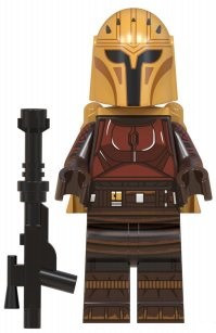 Фигурка Мандалорец Mandalorian Star Wars Звёздные войны Аналог лего