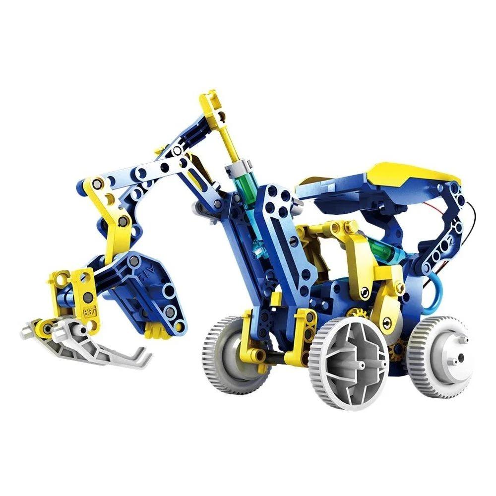 Конструктор робот на солнечных батареях Solar Robot 11 в 1