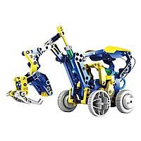 Конструктор робот на солнечных батареях Solar Robot 11 в 1, фото 1