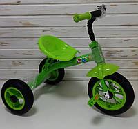 Детский трехколесный велосипед Profi Kids M 3252 зеленый