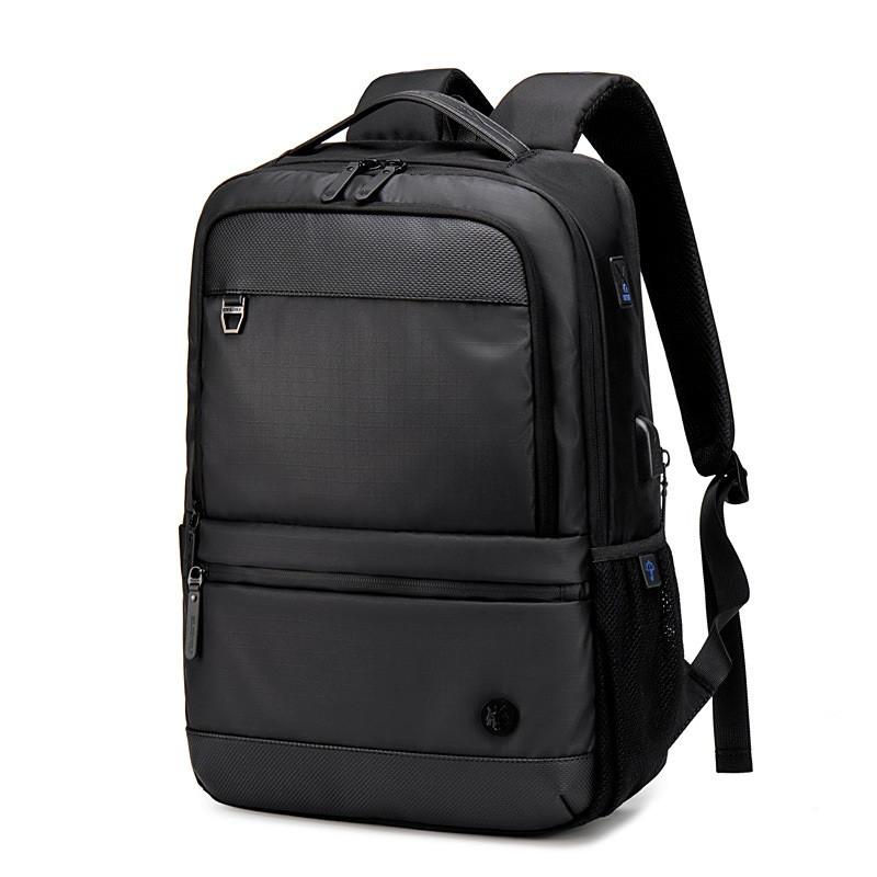 """Классический дорожный рюкзак Golden Wolf GB00402 с USB портом и расширителем, для ноутбука 15,6"""", 20-25л"""