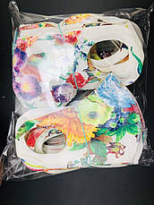 Багаторазова захисна маска - кольорова, фото 2