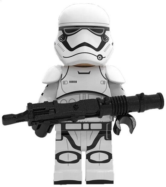 Фигурка Штурмовика Первого Ордена Звёздные войны Star Wars Аналог лего